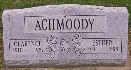 ACHMOODY, ESTHER - Stark County, Ohio | ESTHER ACHMOODY - Ohio Gravestone Photos