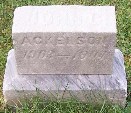 ACKELSON, JOHN L. - Stark County, Ohio   JOHN L. ACKELSON - Ohio Gravestone Photos