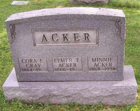 ACKER, ELMER F. - Stark County, Ohio   ELMER F. ACKER - Ohio Gravestone Photos