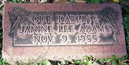 ADAMS, JANINE LEE - Stark County, Ohio   JANINE LEE ADAMS - Ohio Gravestone Photos