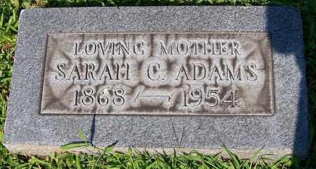 ADAMS, SARAH C. - Stark County, Ohio   SARAH C. ADAMS - Ohio Gravestone Photos