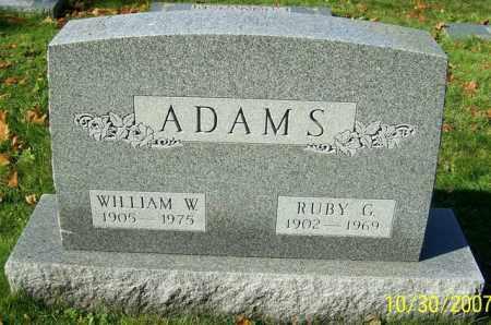 ADAMS, RUBY G. - Stark County, Ohio | RUBY G. ADAMS - Ohio Gravestone Photos