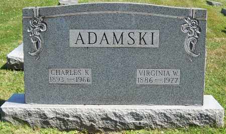 ADAMSKI, VIRGIJNIA W. - Stark County, Ohio | VIRGIJNIA W. ADAMSKI - Ohio Gravestone Photos