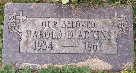 ADKINS, HAROLD D. - Stark County, Ohio | HAROLD D. ADKINS - Ohio Gravestone Photos