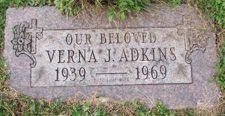 ADKINS, VERNA J. - Stark County, Ohio | VERNA J. ADKINS - Ohio Gravestone Photos