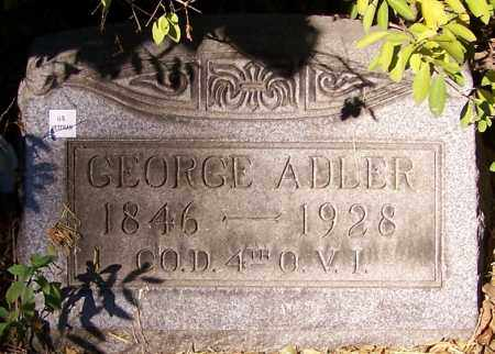 ADLER, GEORGE - Stark County, Ohio | GEORGE ADLER - Ohio Gravestone Photos