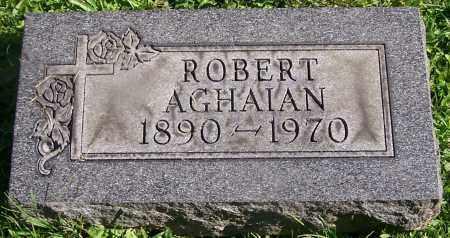 AGHAIAN, ROBERT - Stark County, Ohio | ROBERT AGHAIAN - Ohio Gravestone Photos