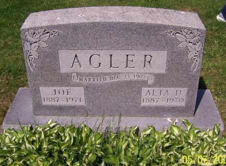 AGLER, ALTA D. - Stark County, Ohio | ALTA D. AGLER - Ohio Gravestone Photos