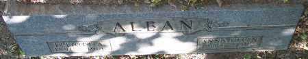 ALBAN, ANNA HELEN - Stark County, Ohio | ANNA HELEN ALBAN - Ohio Gravestone Photos