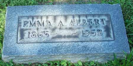 ALBERT, EMMA A. - Stark County, Ohio | EMMA A. ALBERT - Ohio Gravestone Photos