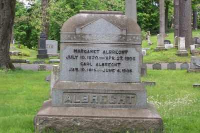 ALBRECHT, MARGARET - Stark County, Ohio | MARGARET ALBRECHT - Ohio Gravestone Photos