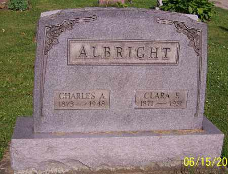 ALBRIGHT, CLARA E. - Stark County, Ohio | CLARA E. ALBRIGHT - Ohio Gravestone Photos
