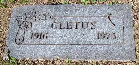 ALBRIGHT, CLETUS - Stark County, Ohio | CLETUS ALBRIGHT - Ohio Gravestone Photos