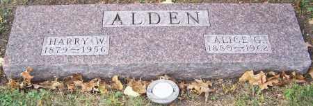 ALDEN, ALICE G. - Stark County, Ohio | ALICE G. ALDEN - Ohio Gravestone Photos