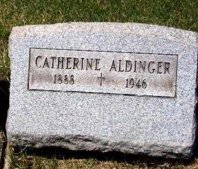 ALDINGER, CATHERINE - Stark County, Ohio | CATHERINE ALDINGER - Ohio Gravestone Photos