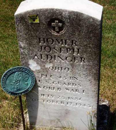 ALDINGER, HOMER JOSEPH - Stark County, Ohio | HOMER JOSEPH ALDINGER - Ohio Gravestone Photos