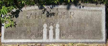 ALDINGER, HENRY - Stark County, Ohio | HENRY ALDINGER - Ohio Gravestone Photos