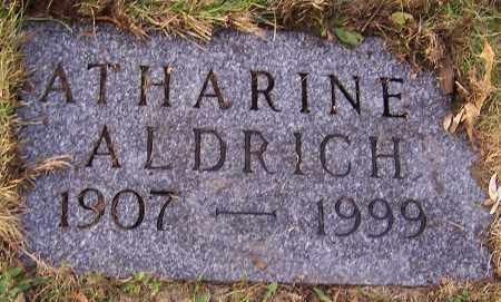 ALDRICH, ATHARINE - Stark County, Ohio | ATHARINE ALDRICH - Ohio Gravestone Photos