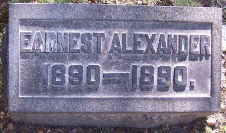 ALEXANDER, EARNEST - Stark County, Ohio | EARNEST ALEXANDER - Ohio Gravestone Photos