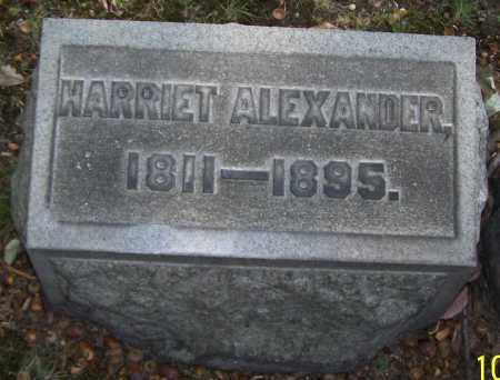 ALEXANDER, HARRIET - Stark County, Ohio | HARRIET ALEXANDER - Ohio Gravestone Photos