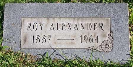 ALEXANDER, ROY - Stark County, Ohio | ROY ALEXANDER - Ohio Gravestone Photos