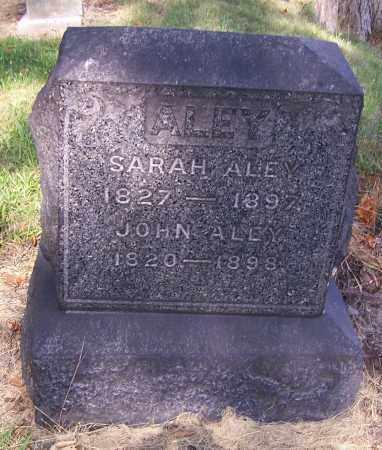 ALEY, JOHN - Stark County, Ohio | JOHN ALEY - Ohio Gravestone Photos