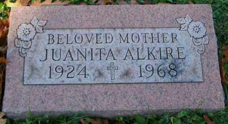 ALKIRE, JUANITA - Stark County, Ohio   JUANITA ALKIRE - Ohio Gravestone Photos