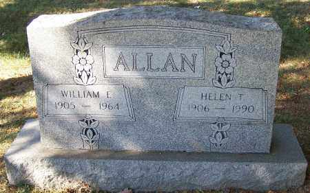 ALLAN, WILLIAM E. - Stark County, Ohio   WILLIAM E. ALLAN - Ohio Gravestone Photos