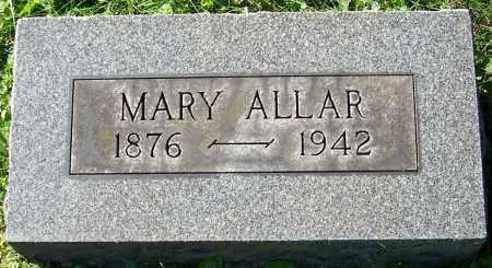 ALLAR, MARY - Stark County, Ohio | MARY ALLAR - Ohio Gravestone Photos