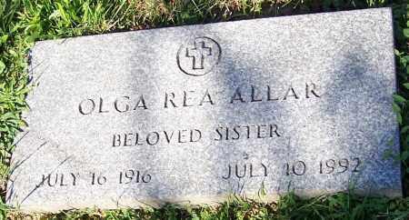 ALLAR, OLGA REA - Stark County, Ohio   OLGA REA ALLAR - Ohio Gravestone Photos