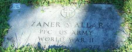 ALLAR, ZANER S. - Stark County, Ohio | ZANER S. ALLAR - Ohio Gravestone Photos