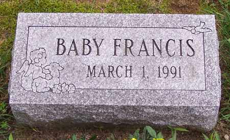 ALLEN, BABY FRANCIS - Stark County, Ohio | BABY FRANCIS ALLEN - Ohio Gravestone Photos