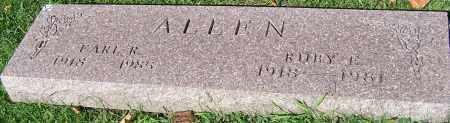 ALLEN, RUBY E. - Stark County, Ohio   RUBY E. ALLEN - Ohio Gravestone Photos