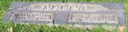 ALLEN, HENRY WILLIAM - Stark County, Ohio | HENRY WILLIAM ALLEN - Ohio Gravestone Photos