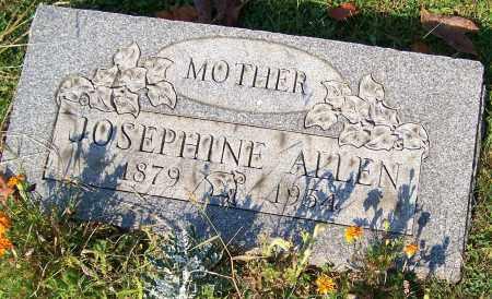 ALLEN, JOSEPHINE - Stark County, Ohio | JOSEPHINE ALLEN - Ohio Gravestone Photos