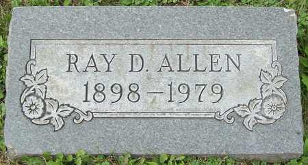 ALLEN, RAY D. - Stark County, Ohio | RAY D. ALLEN - Ohio Gravestone Photos