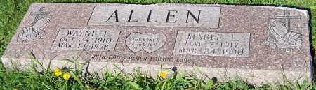 ALLEN, MABLE L. - Stark County, Ohio | MABLE L. ALLEN - Ohio Gravestone Photos