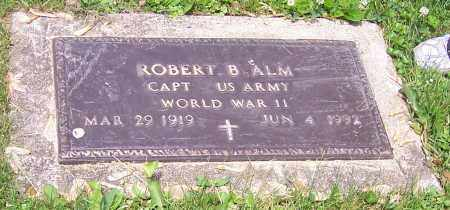 ALM, ROBERT B.   (MIL) - Stark County, Ohio | ROBERT B.   (MIL) ALM - Ohio Gravestone Photos