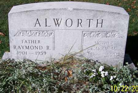 ALWORTH, RAYMOND R. - Stark County, Ohio | RAYMOND R. ALWORTH - Ohio Gravestone Photos