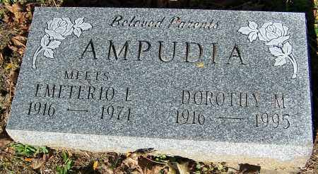 AMPUDIA, MEETS EMETERIO L. - Stark County, Ohio | MEETS EMETERIO L. AMPUDIA - Ohio Gravestone Photos