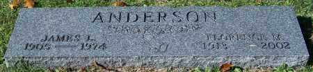 ANDERSON, FLORENCE M. - Stark County, Ohio | FLORENCE M. ANDERSON - Ohio Gravestone Photos