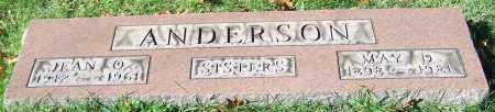 ANDERSON, MAY D. - Stark County, Ohio | MAY D. ANDERSON - Ohio Gravestone Photos
