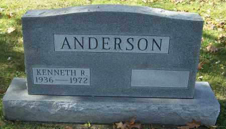 ANDERSON, KENNETH R. - Stark County, Ohio | KENNETH R. ANDERSON - Ohio Gravestone Photos