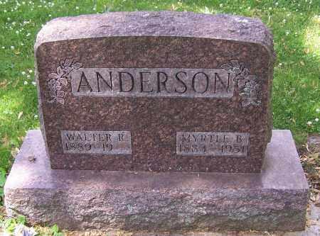 ANDERSON, WALTER R. - Stark County, Ohio | WALTER R. ANDERSON - Ohio Gravestone Photos