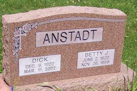 ANSTADT, DICK - Stark County, Ohio   DICK ANSTADT - Ohio Gravestone Photos