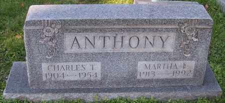 ANTHONY, CHARLES T. - Stark County, Ohio | CHARLES T. ANTHONY - Ohio Gravestone Photos