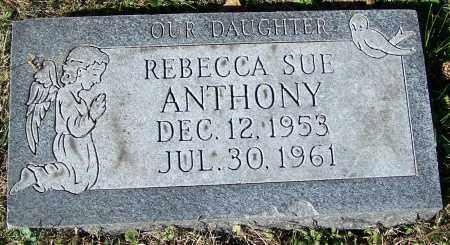 ANTHONY, REBECCA SUE - Stark County, Ohio | REBECCA SUE ANTHONY - Ohio Gravestone Photos