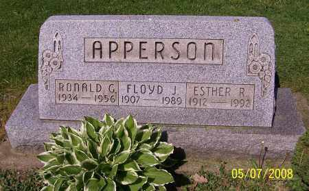 APPERSON, ESTHER R. - Stark County, Ohio | ESTHER R. APPERSON - Ohio Gravestone Photos
