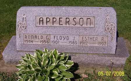 APPERSON, FLOYD J. - Stark County, Ohio | FLOYD J. APPERSON - Ohio Gravestone Photos