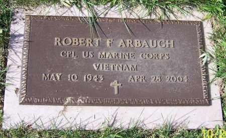 ARBAUGH, ROBERT F. - Stark County, Ohio | ROBERT F. ARBAUGH - Ohio Gravestone Photos